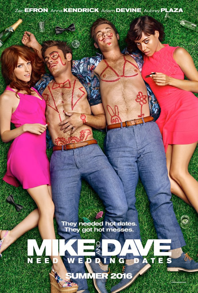 Mike and Dave Need Wedding Dates kapak