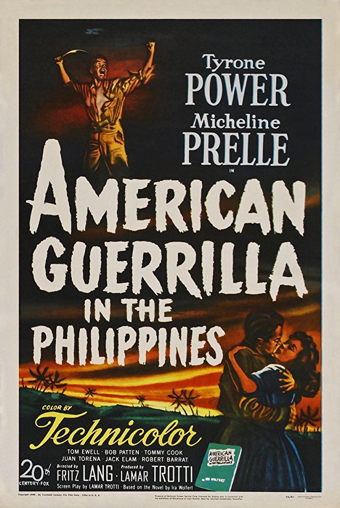 American Guerrilla in the Philippines kapak