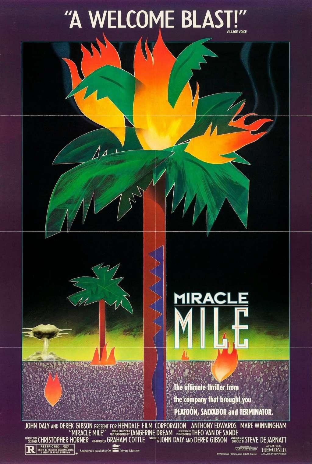 Miracle Mile kapak
