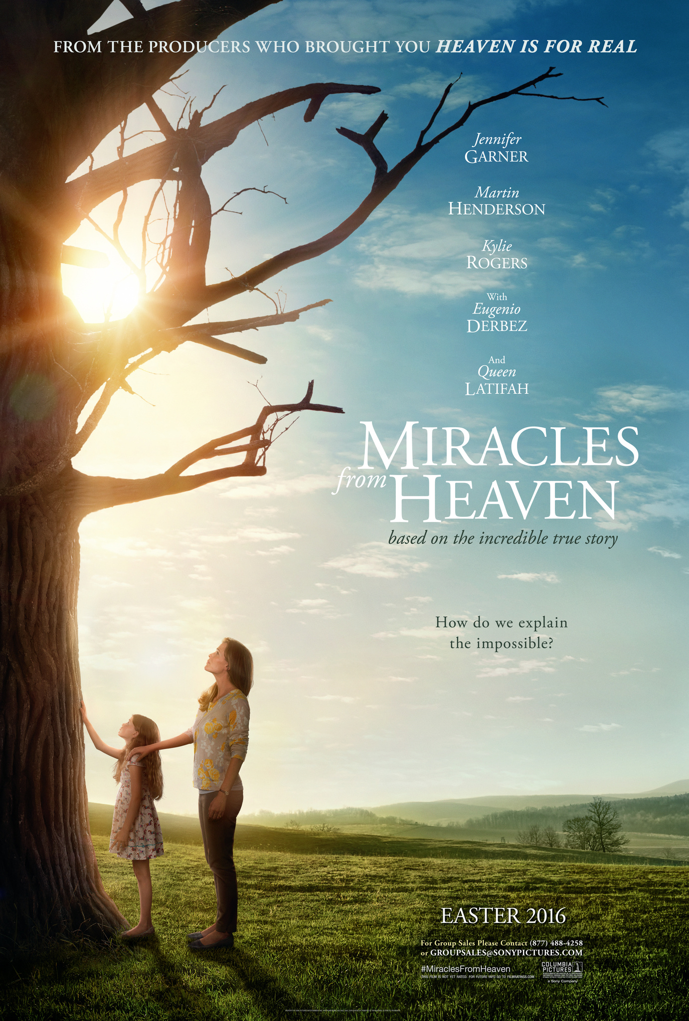 Miracles from Heaven kapak