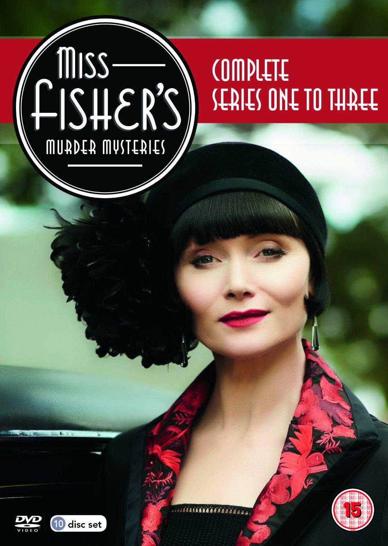 Miss Fisher's Murder Mysteries kapak