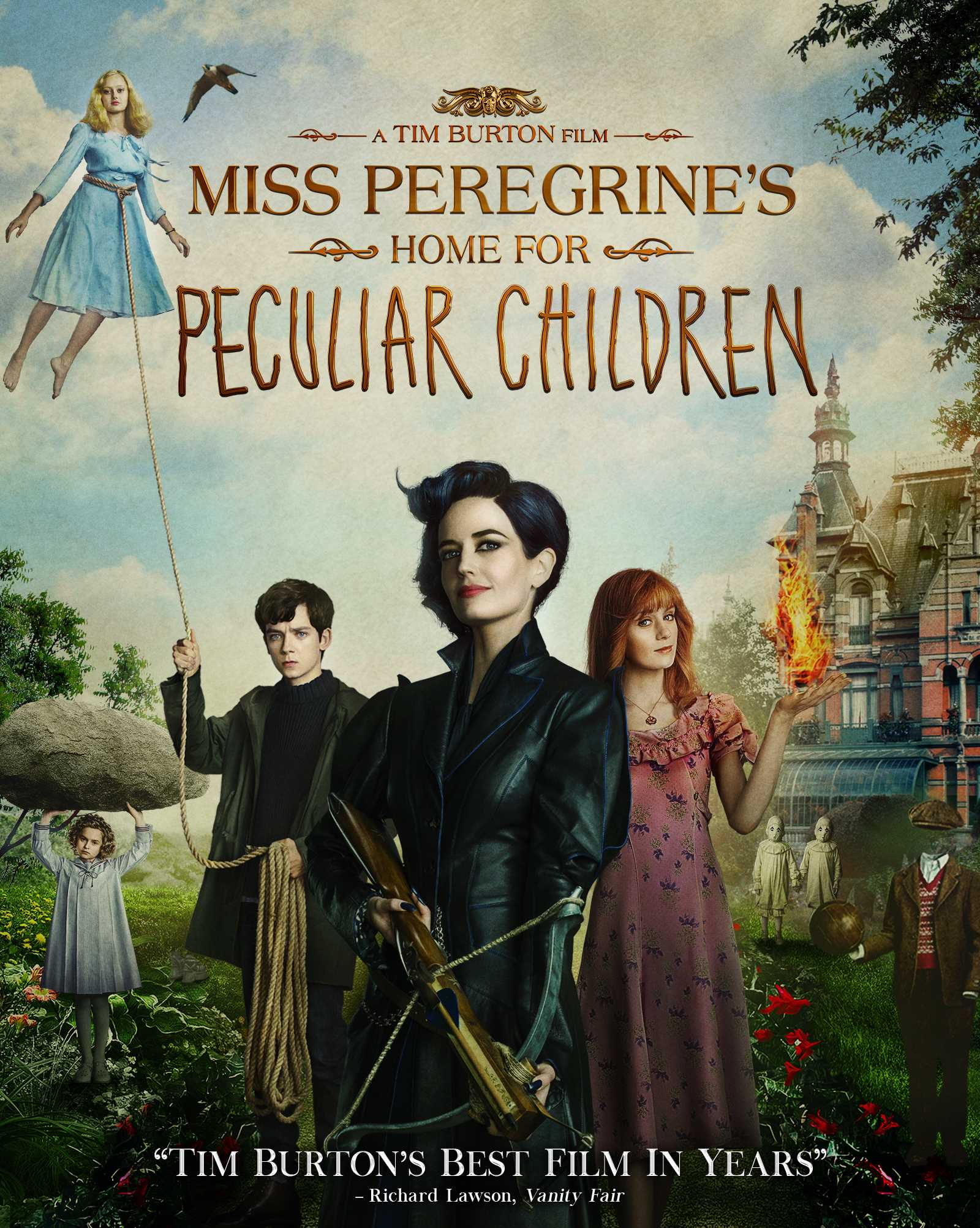 Miss Peregrine's Home for Peculiar Children kapak