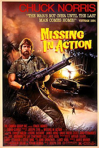 Missing in Action kapak