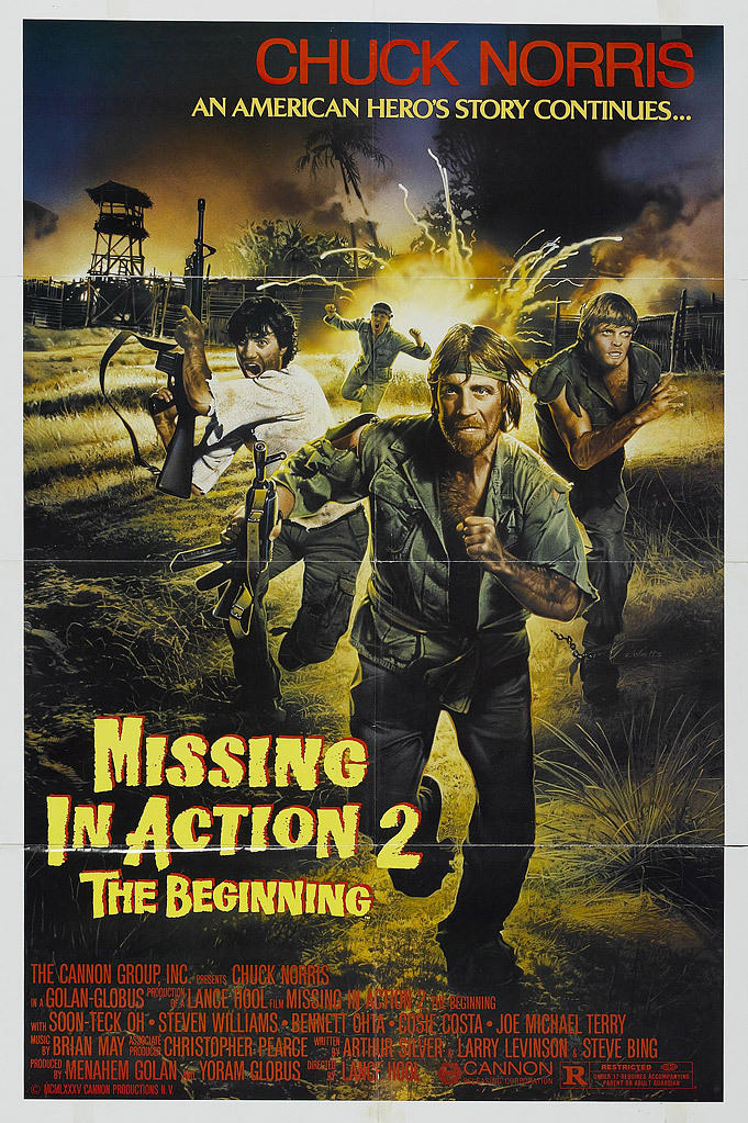 Missing in Action 2: The Beginning kapak