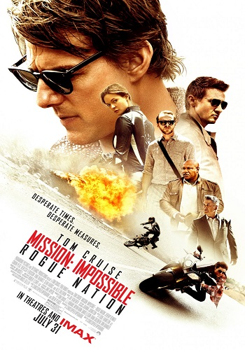 Mission: Impossible - Rogue Nation kapak