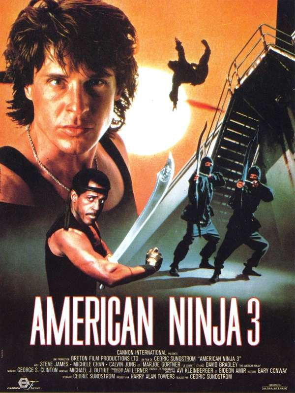 American Ninja 3: Blood Hunt kapak