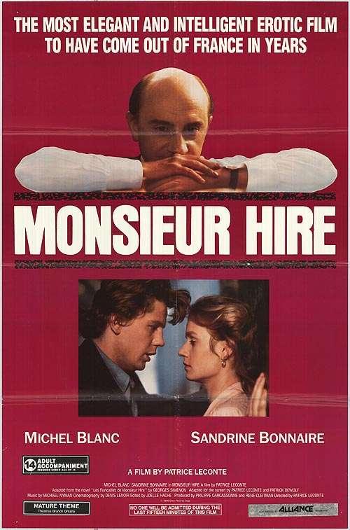 Monsieur Hire kapak