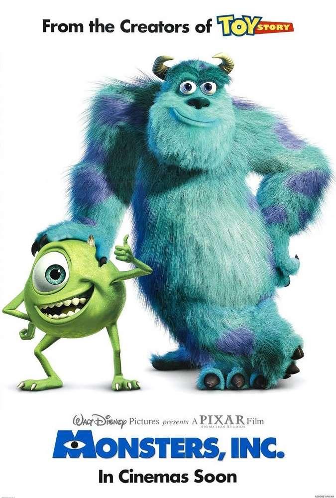 Monsters, Inc. kapak