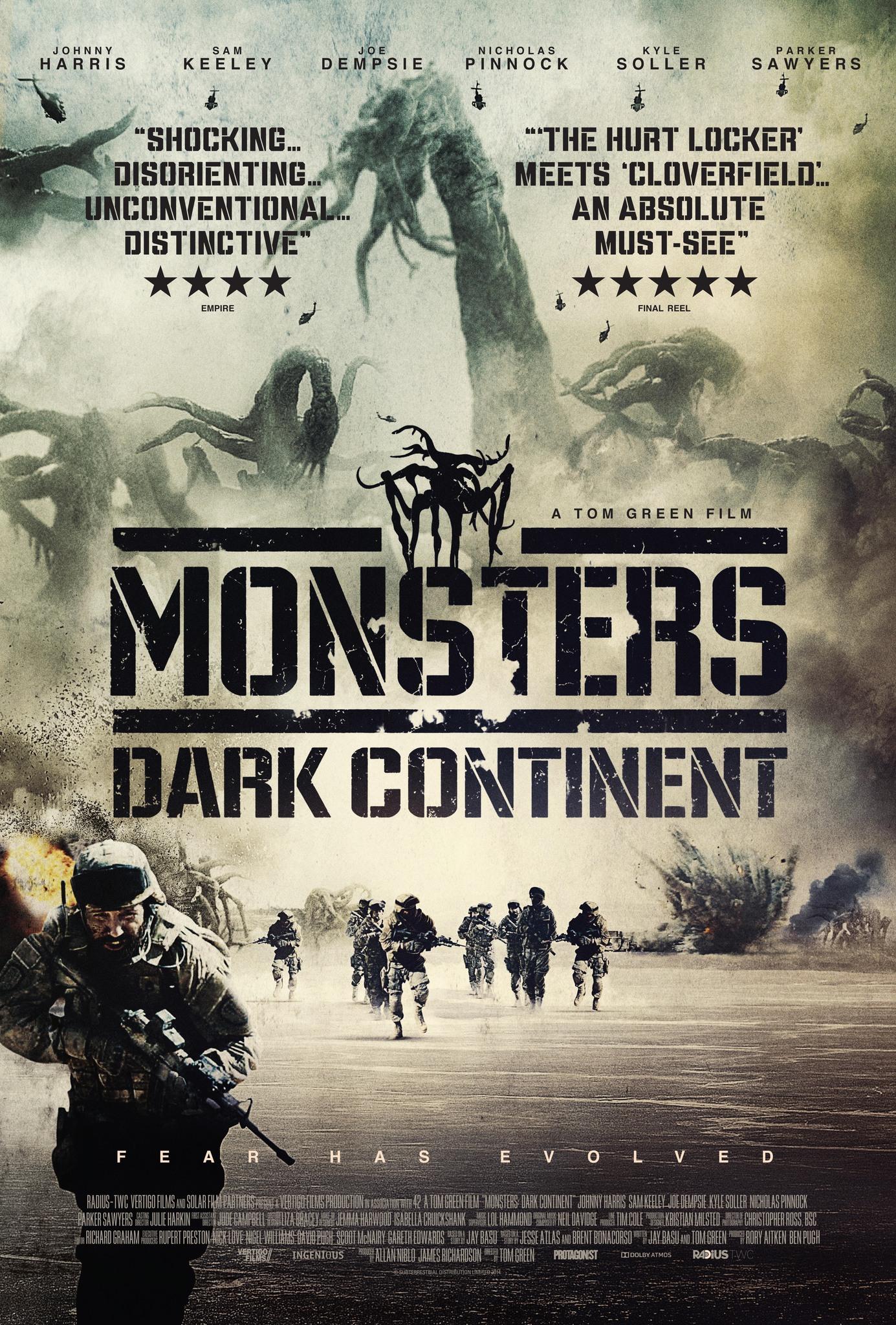 Monsters: Dark Continent kapak