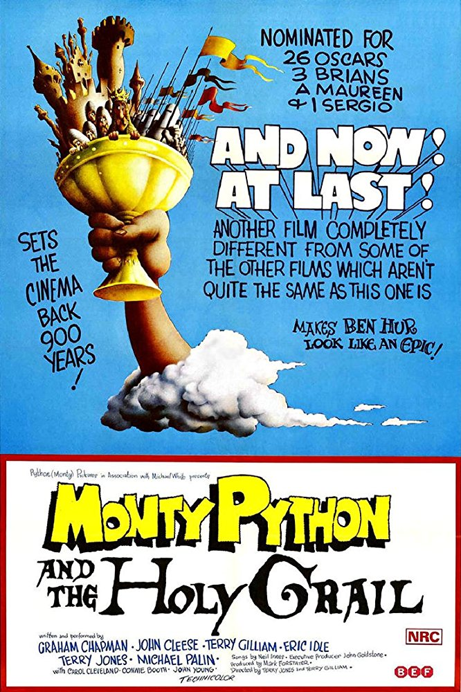 Monty Python and the Holy Grail kapak