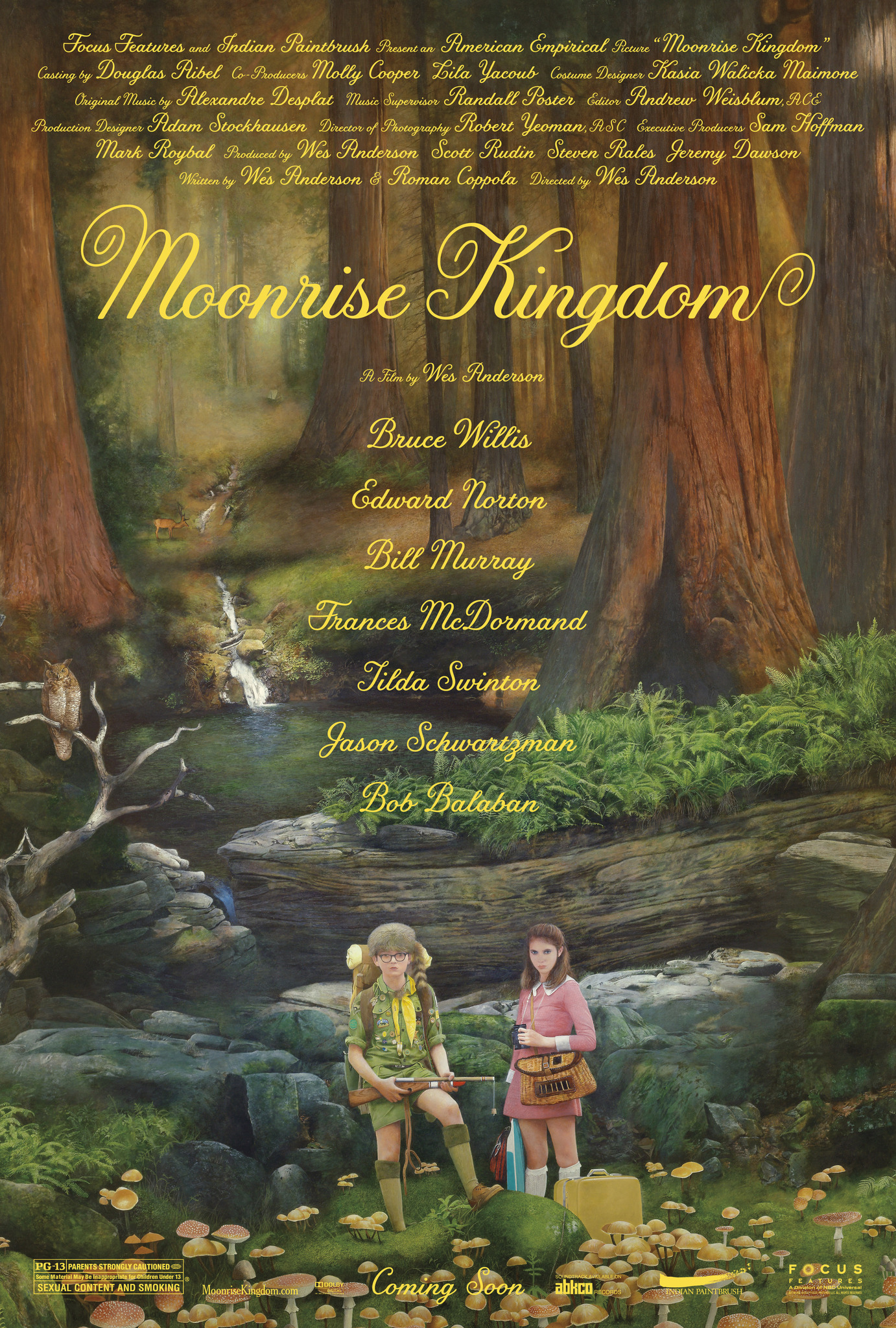 Moonrise Kingdom kapak