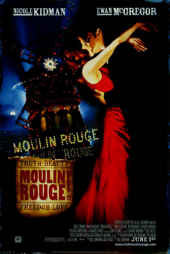 Moulin Rouge! kapak