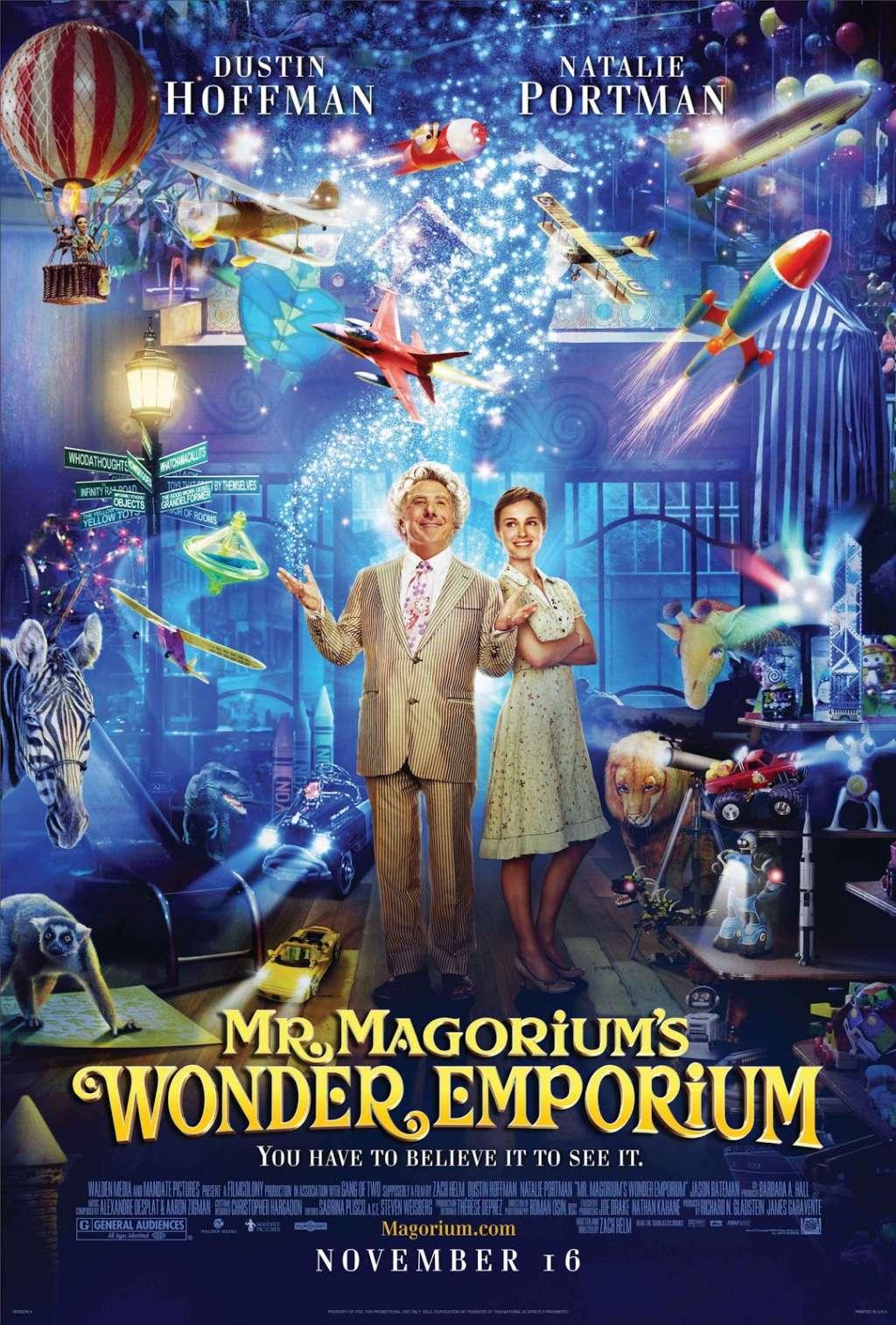 Mr. Magorium's Wonder Emporium kapak