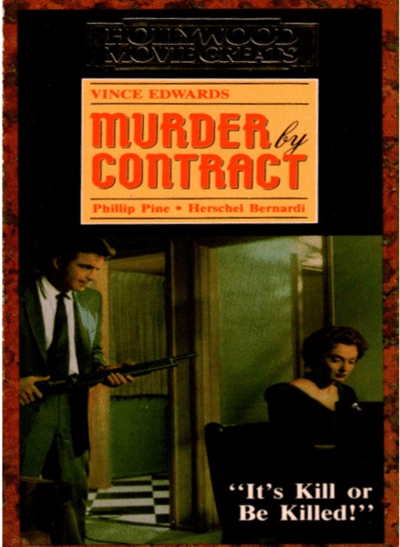 Murder by Contract kapak