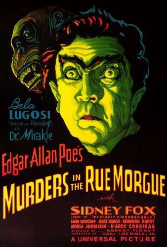 Murders in the Rue Morgue kapak
