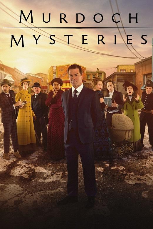 Murdoch Mysteries kapak