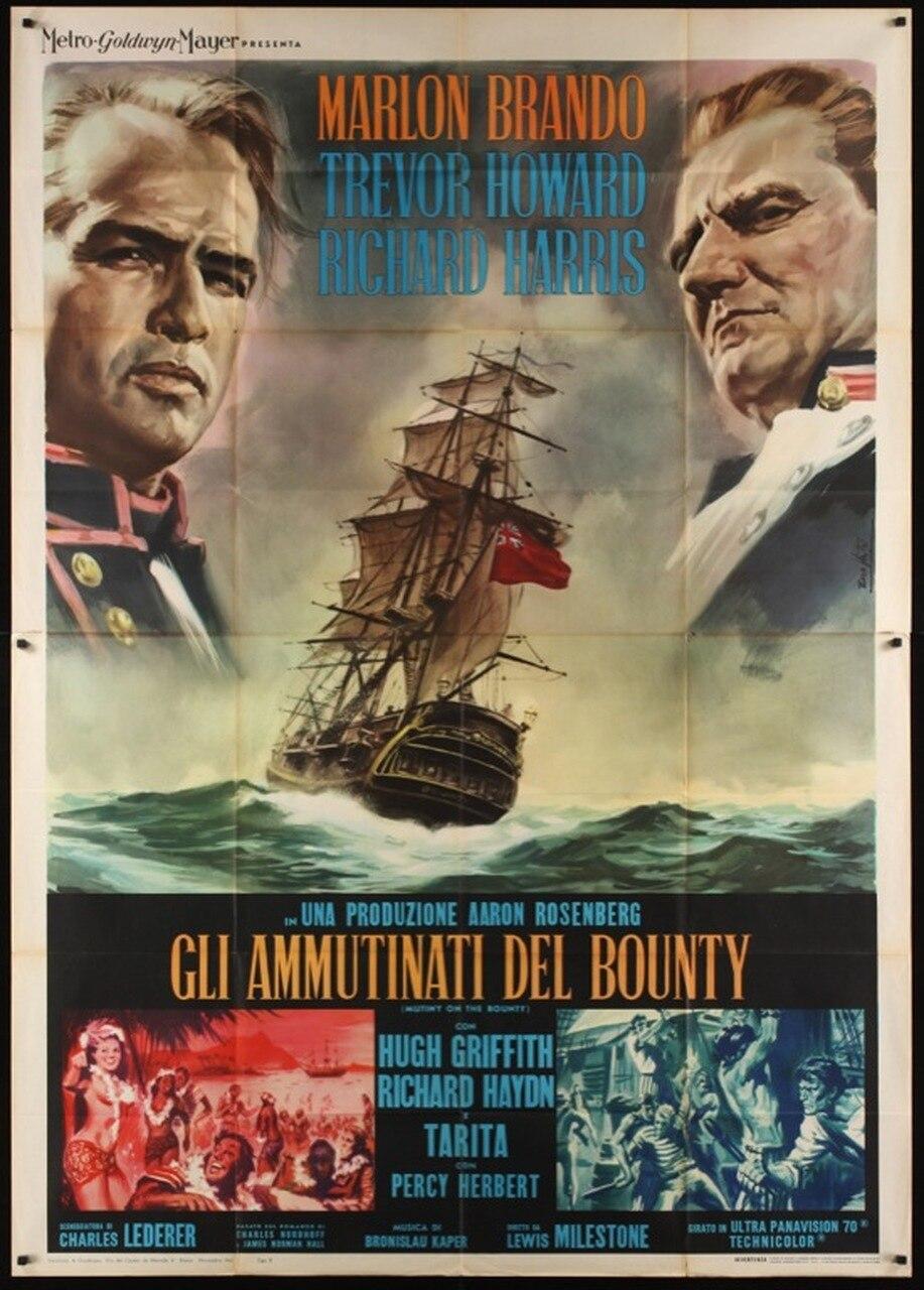 Mutiny on the Bounty kapak