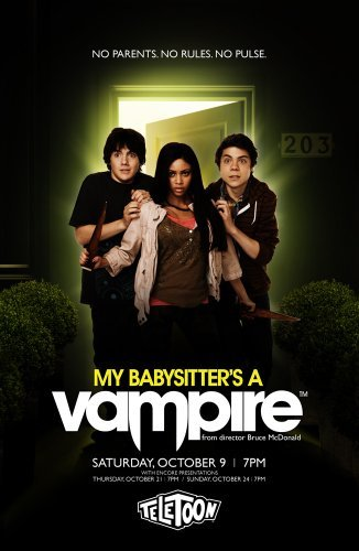 My Babysitter's a Vampire kapak