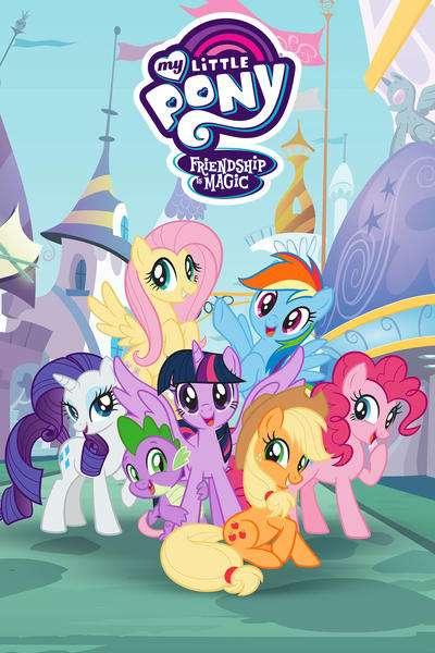 My Little Pony: Friendship Is Magic kapak