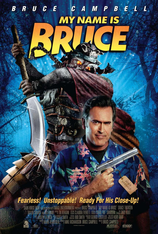 My Name Is Bruce kapak