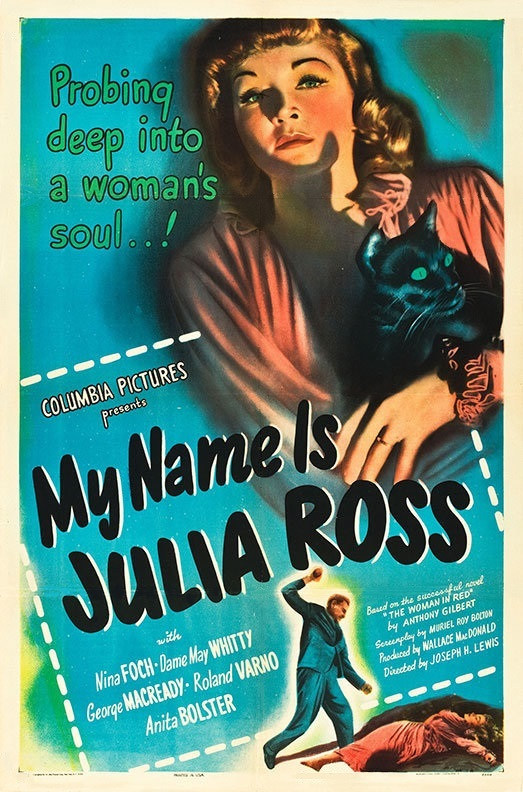 My Name Is Julia Ross kapak