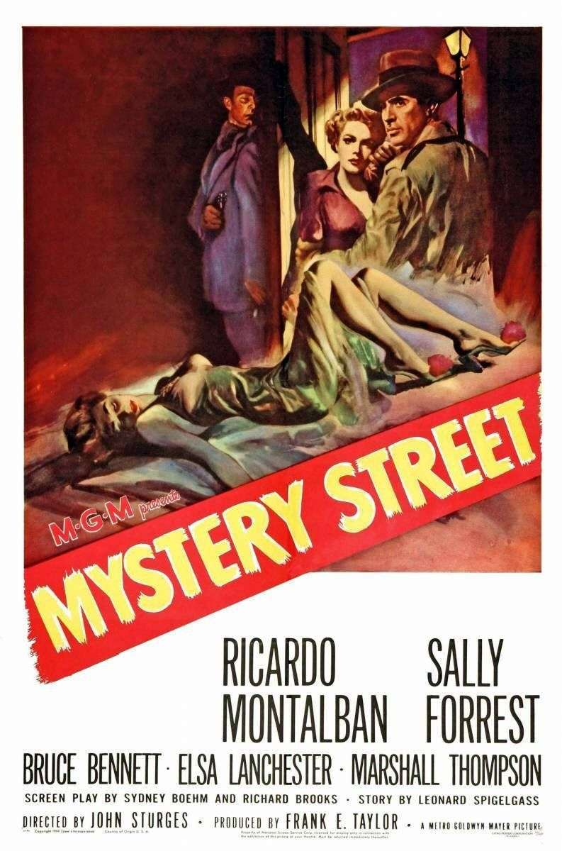 Mystery Street kapak