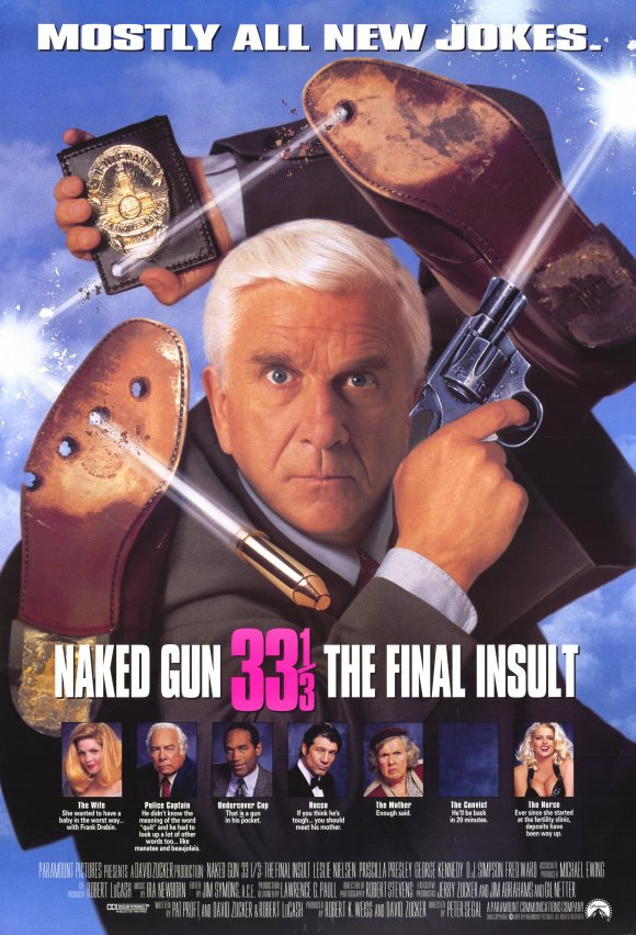 Naked Gun 33 1/3: The Final Insult kapak