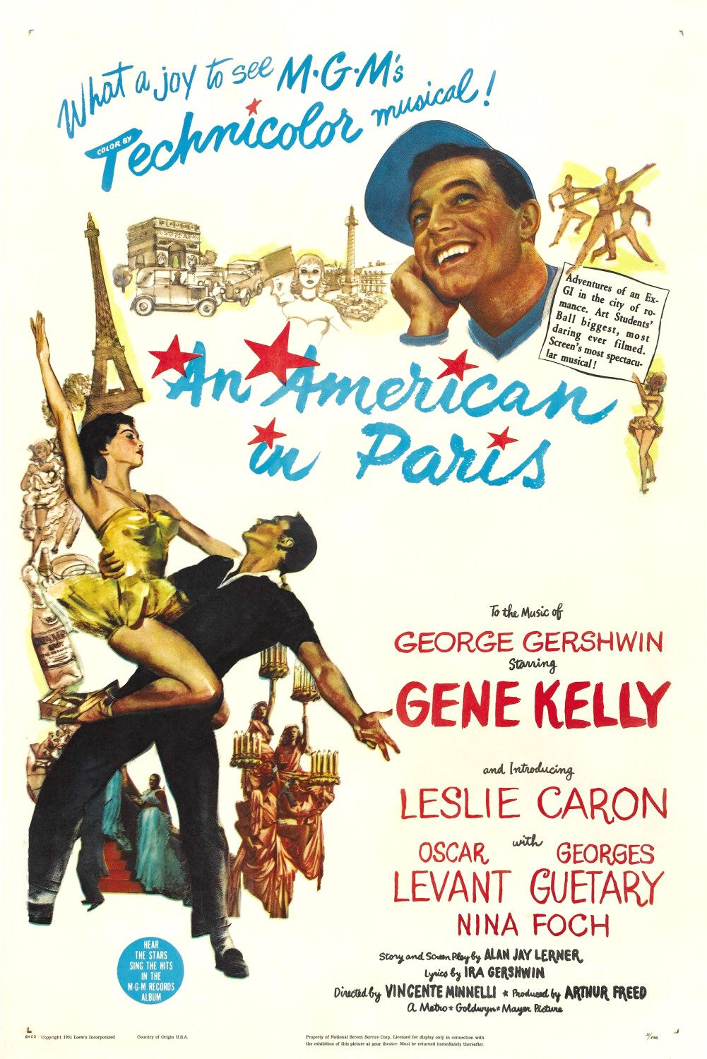 An American in Paris kapak