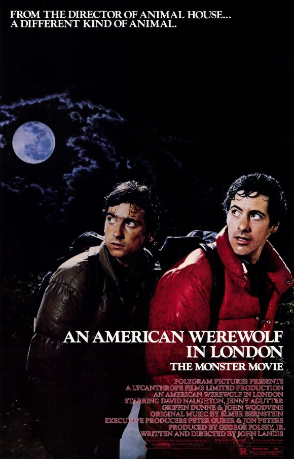 An American Werewolf in London kapak