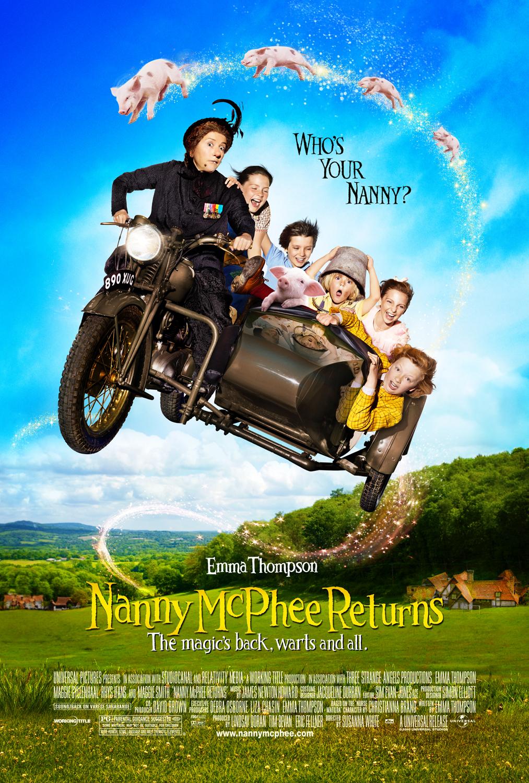 Nanny McPhee Returns kapak