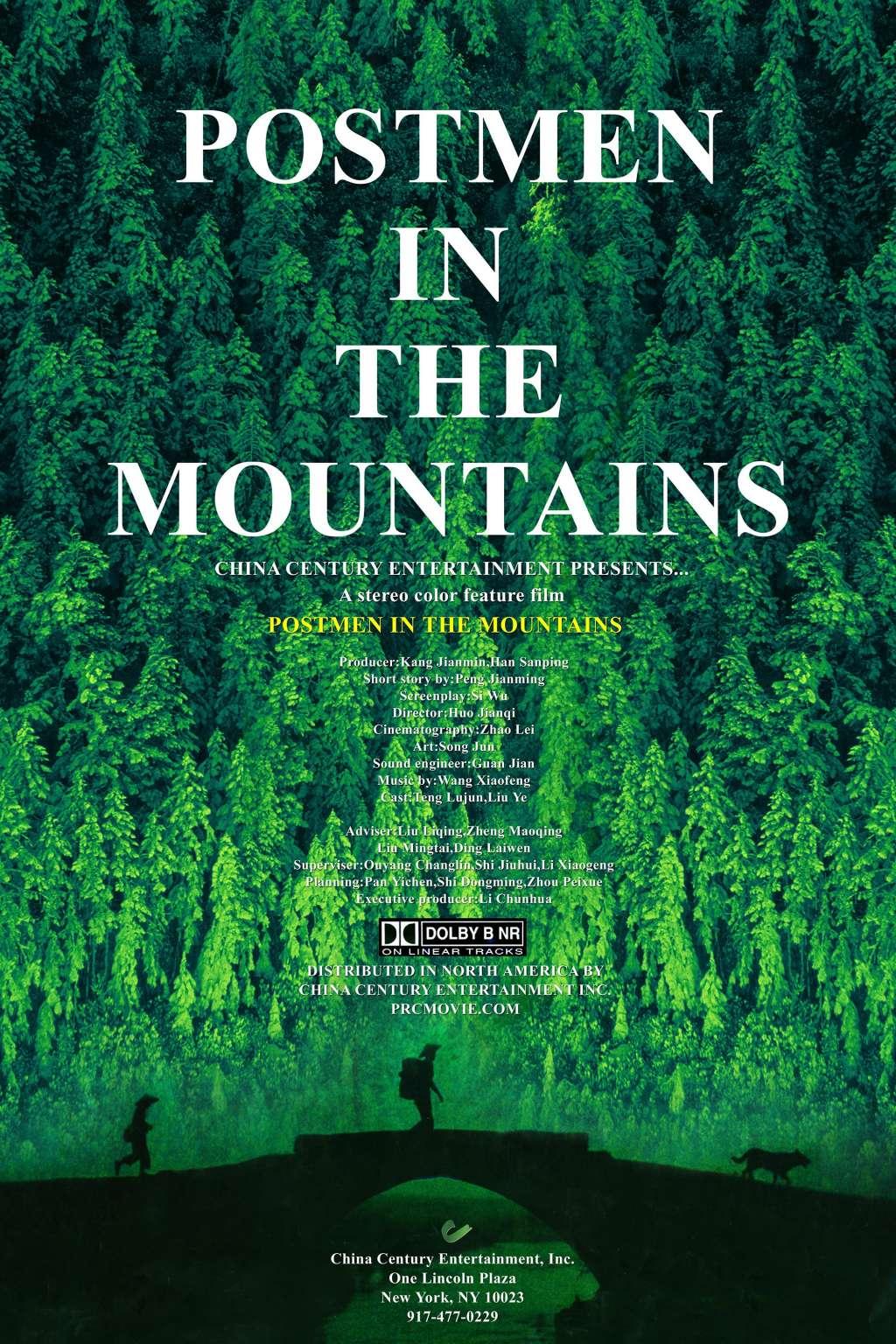 Postmen in the Mountains kapak