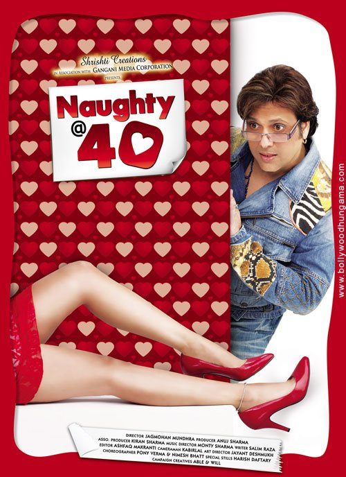 Naughty @ 40 kapak