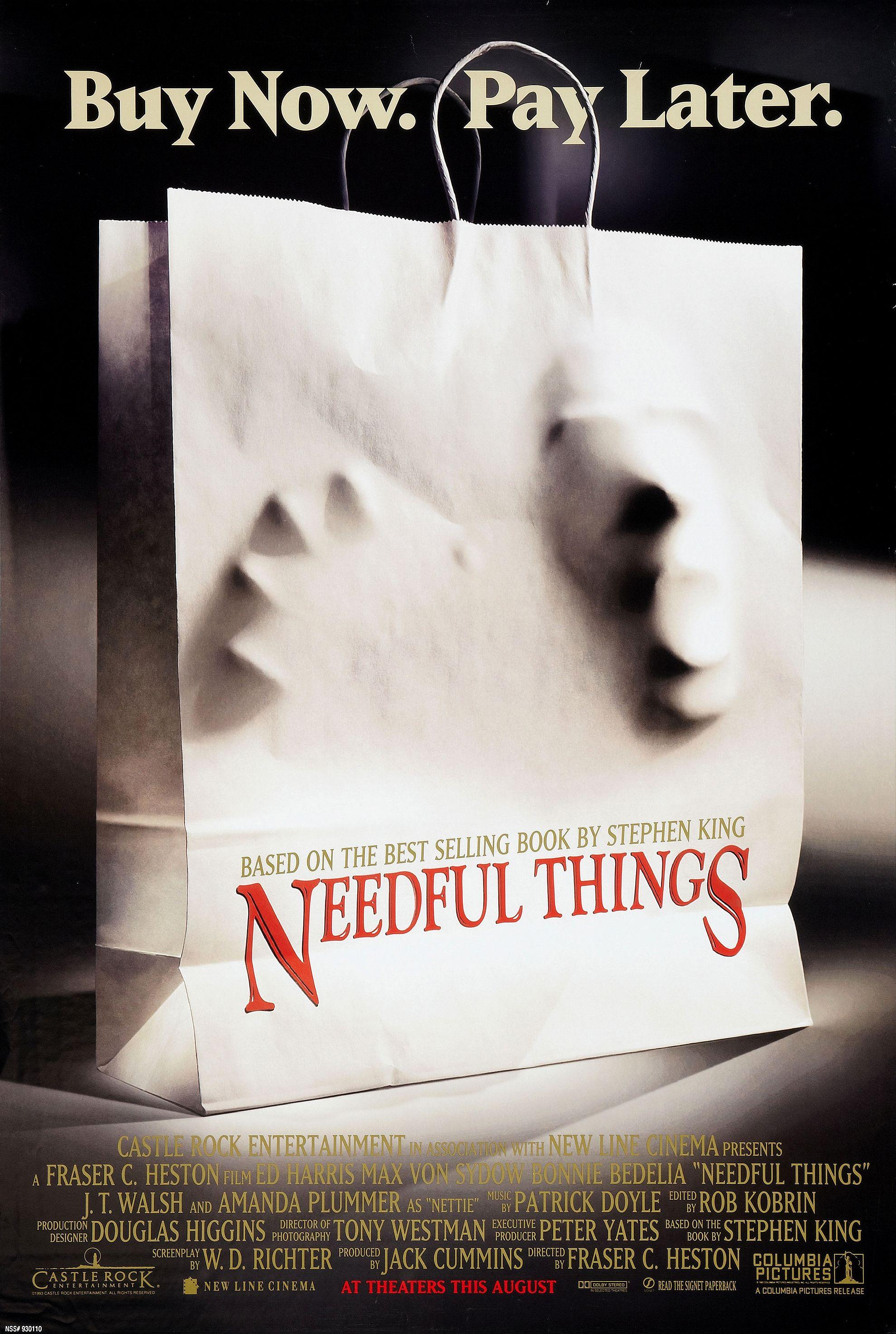 Needful Things kapak