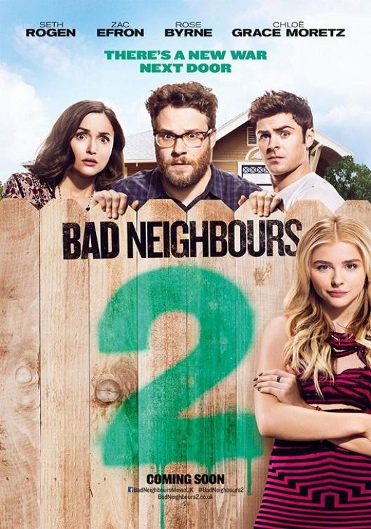 Neighbors 2: Sorority Rising kapak