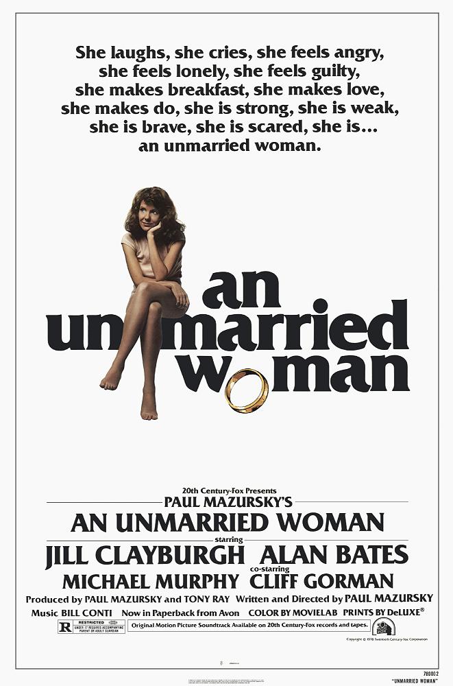 An Unmarried Woman kapak