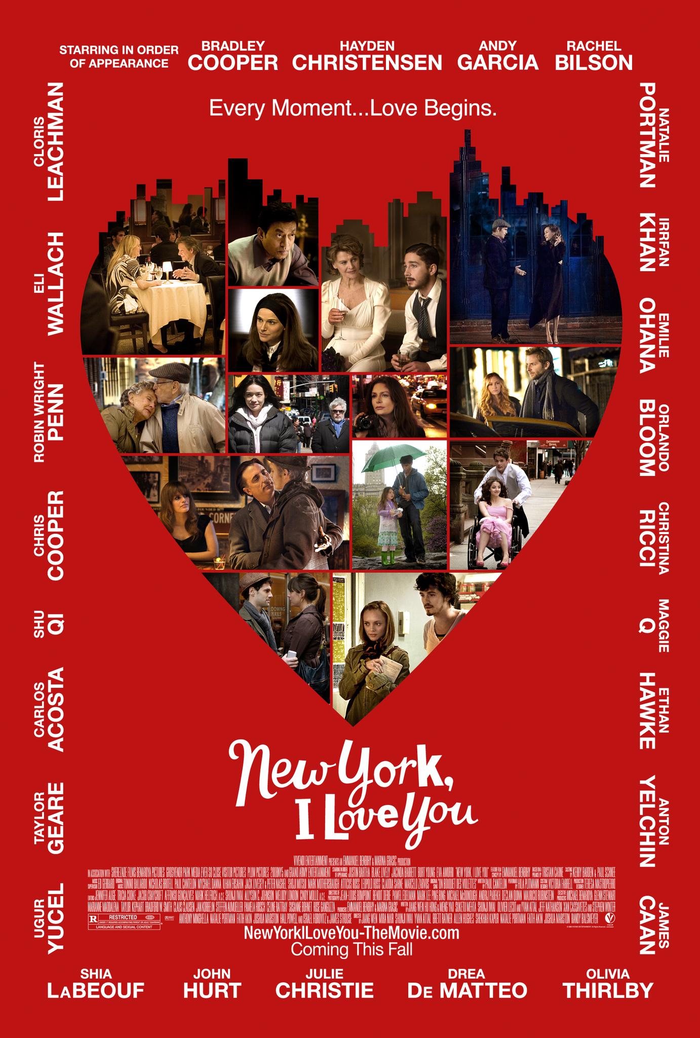 New York, I Love You kapak