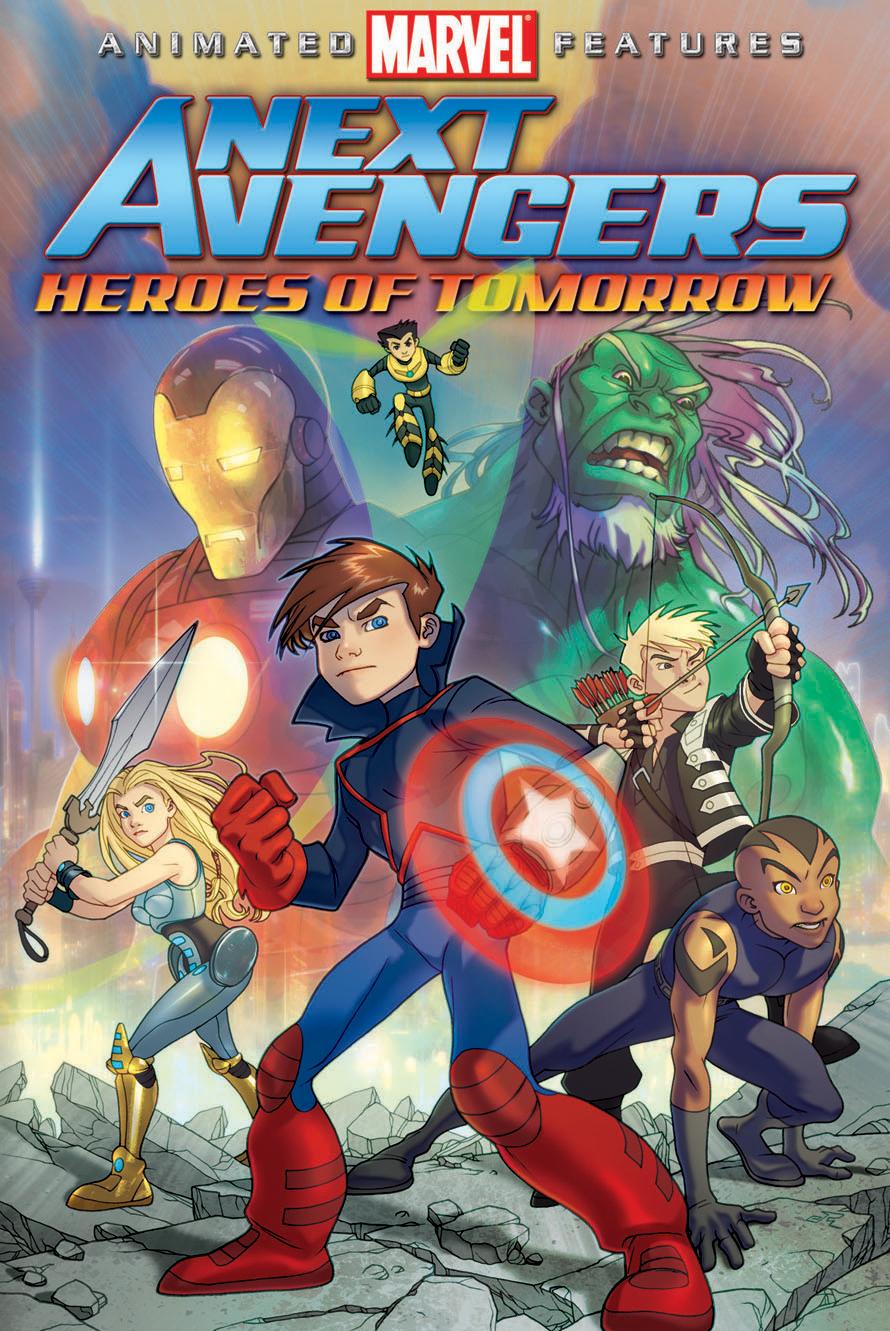 Next Avengers: Heroes of Tomorrow kapak