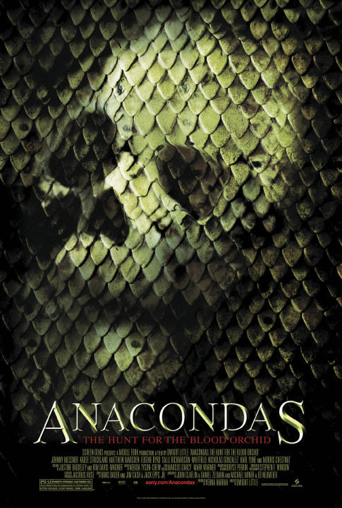 Anacondas: The Hunt for the Blood Orchid kapak