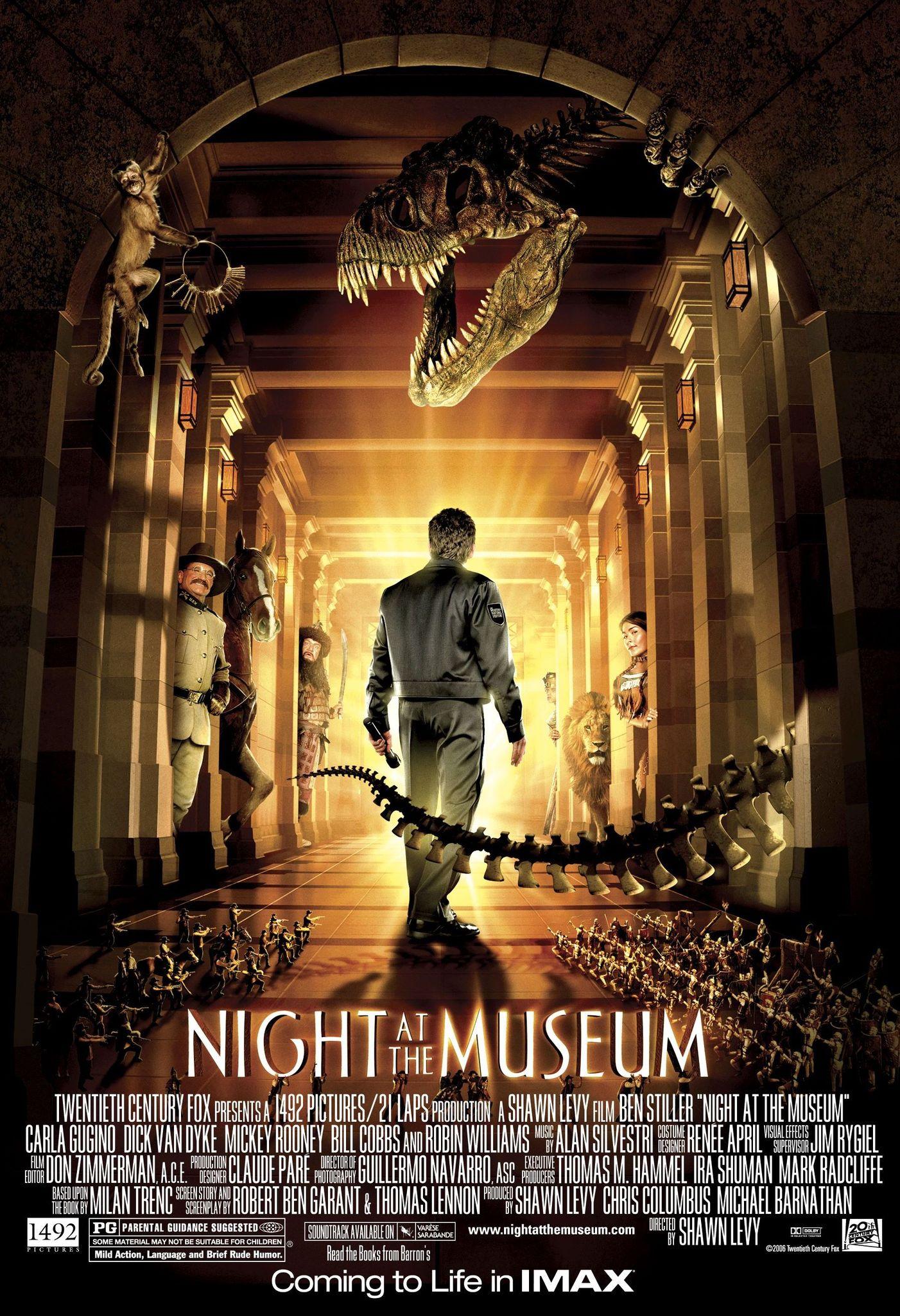 Night at the Museum kapak
