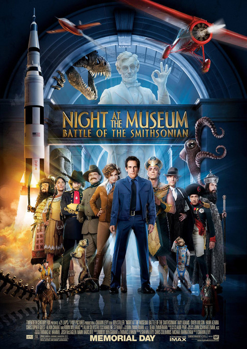 Night at the Museum: Battle of the Smithsonian kapak