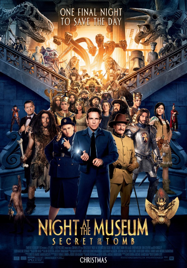 Night at the Museum: Secret of the Tomb kapak