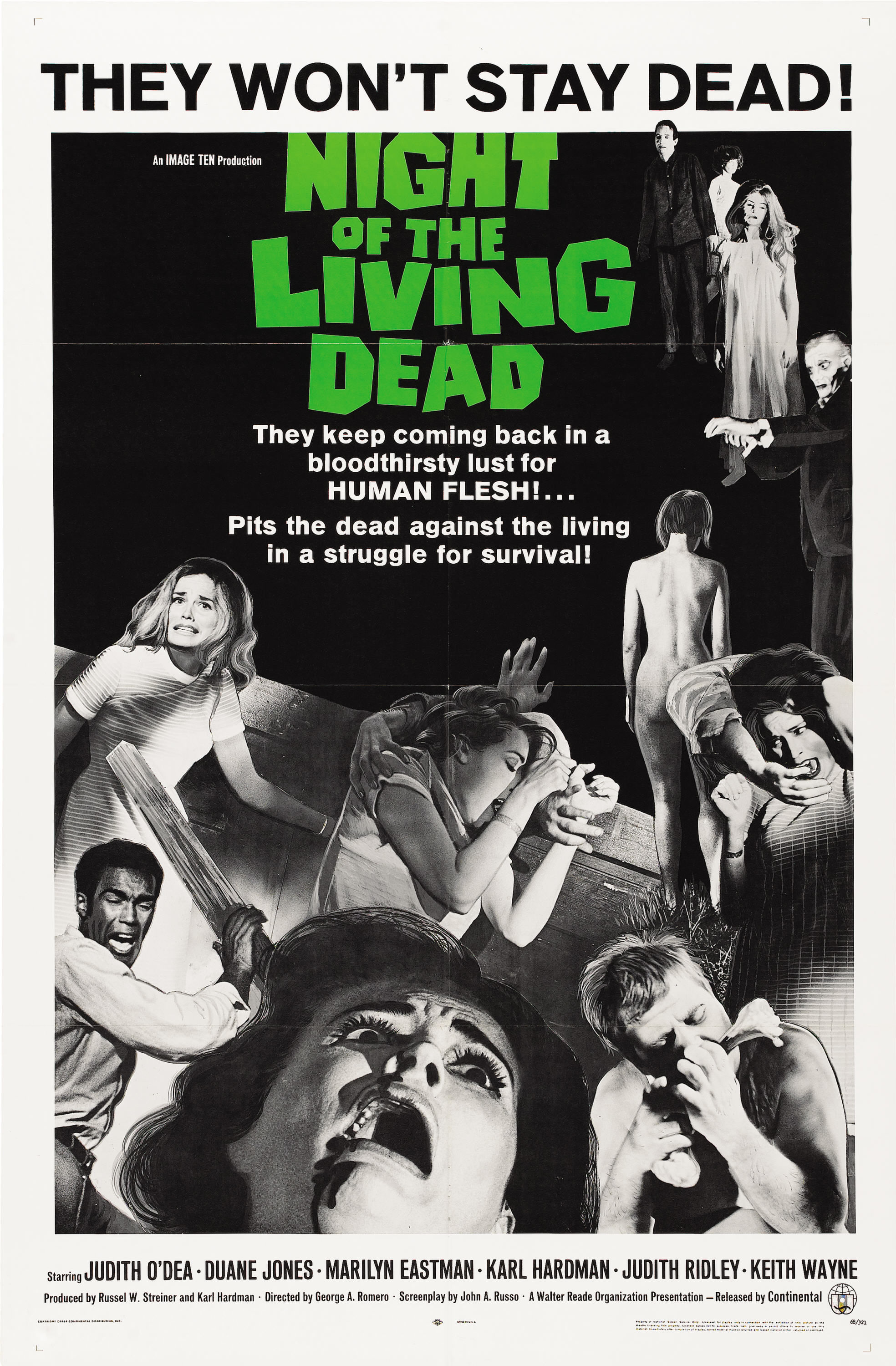 Night of the Living Dead kapak