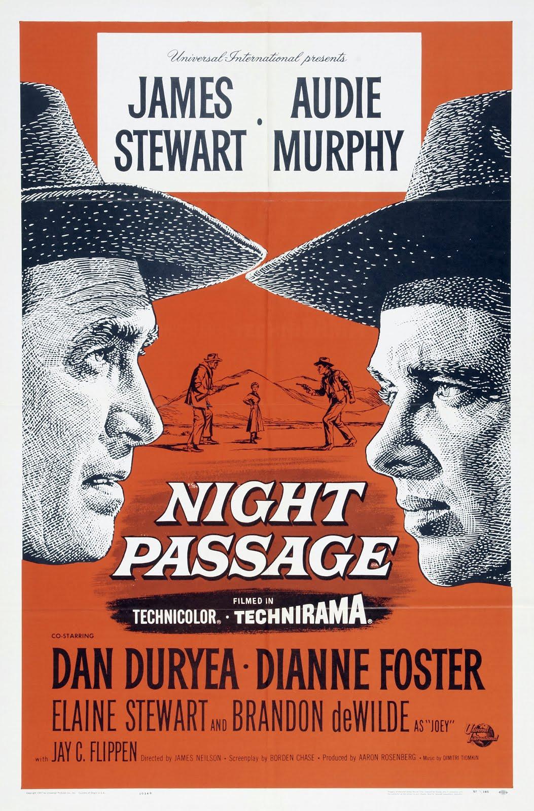 Night Passage kapak