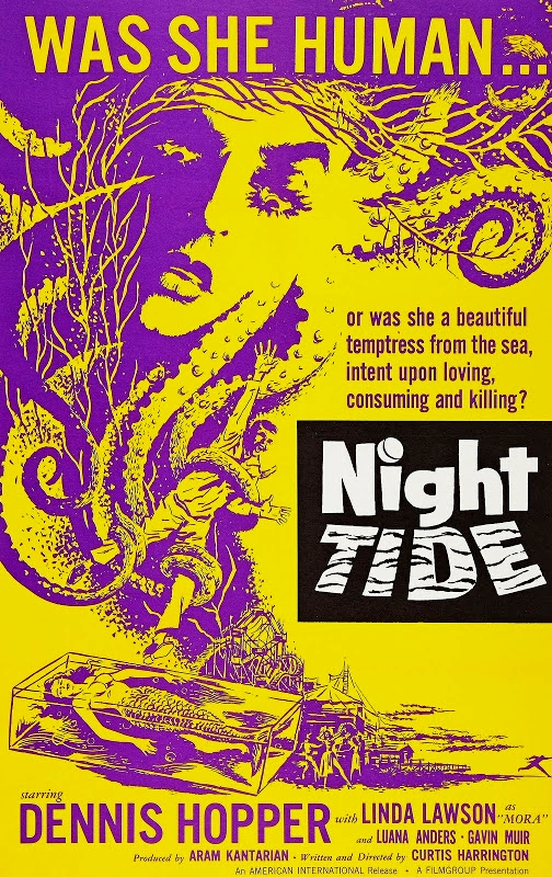 Night Tide kapak