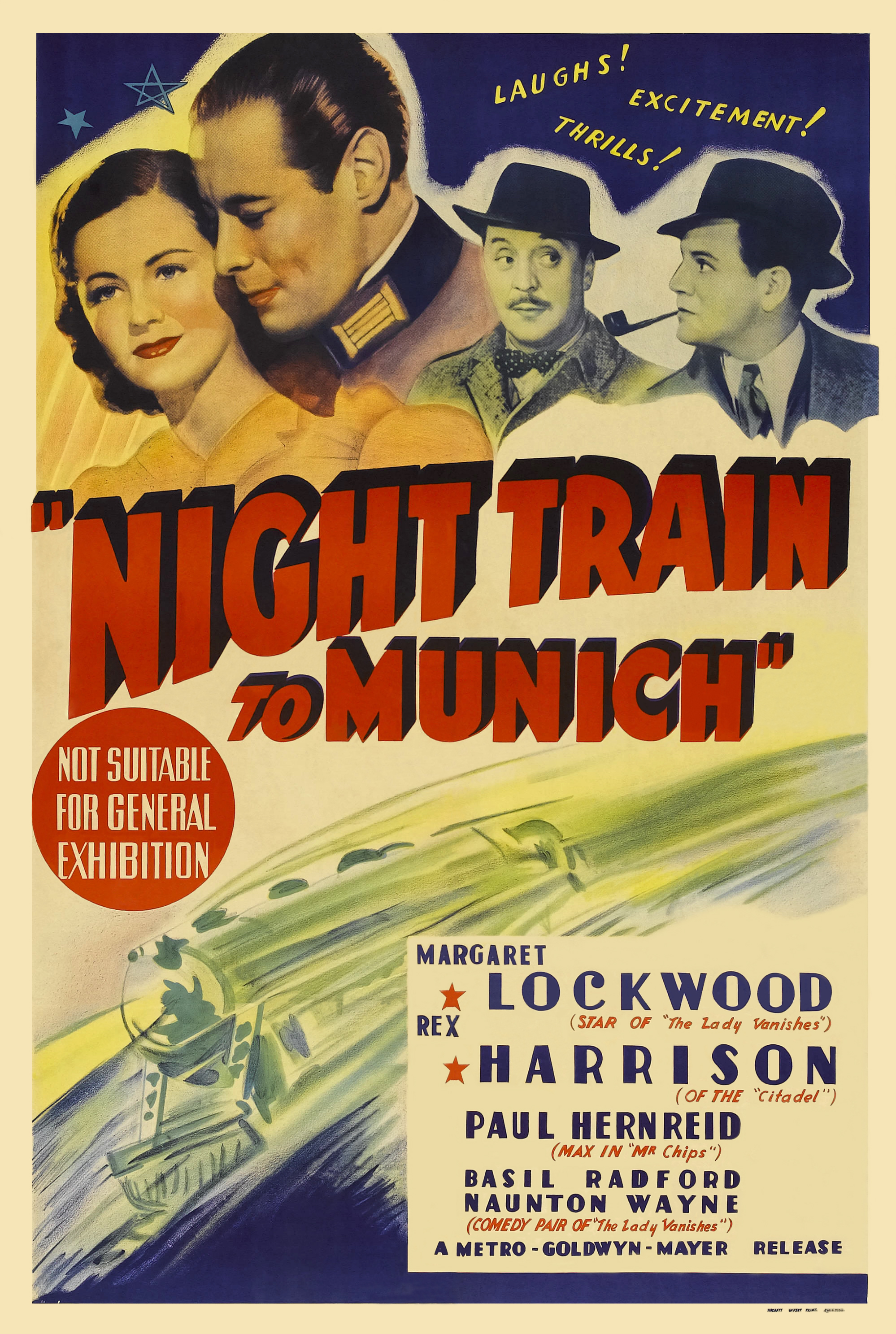 Night Train to Munich kapak