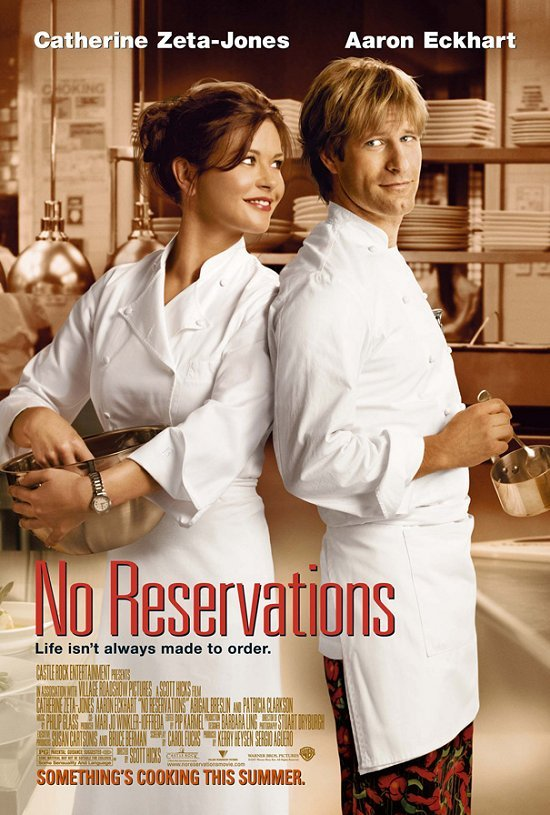 No Reservations kapak
