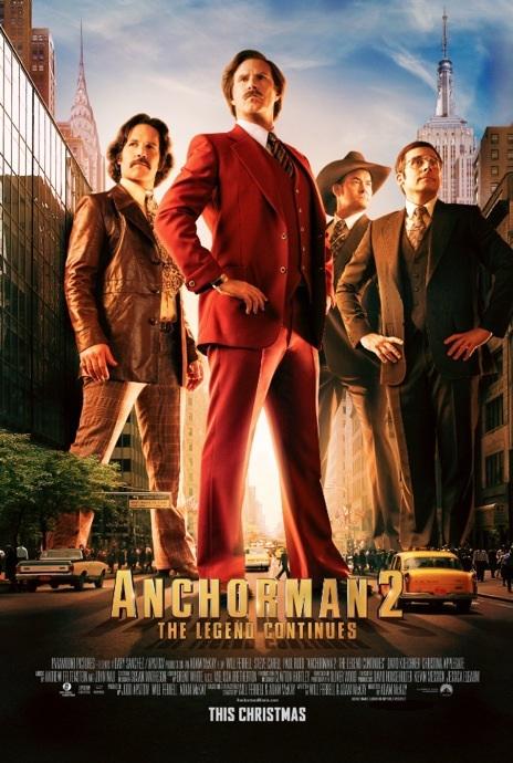 Anchorman 2: The Legend Continues kapak