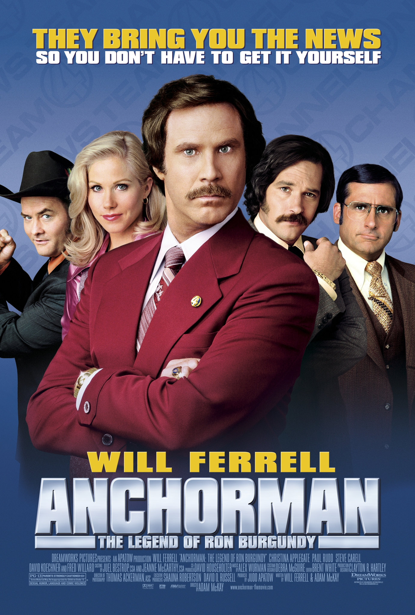 Anchorman: The Legend of Ron Burgundy kapak