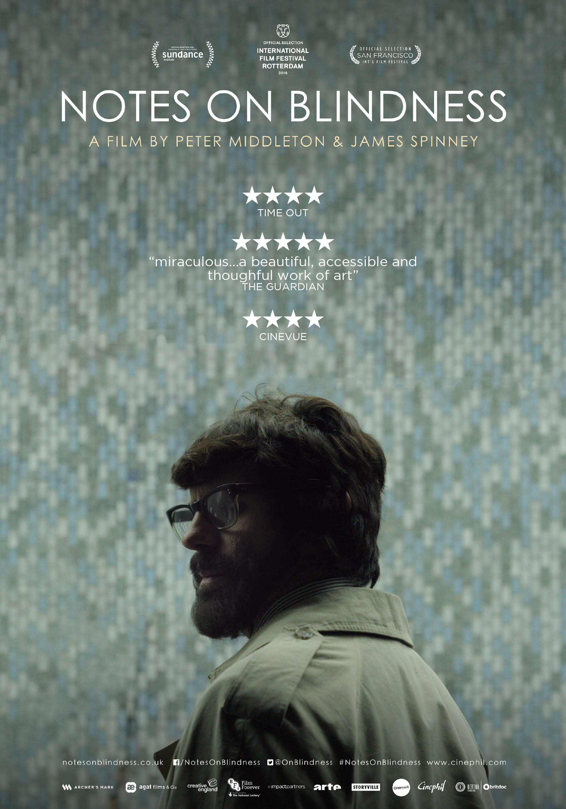 Notes on Blindness kapak