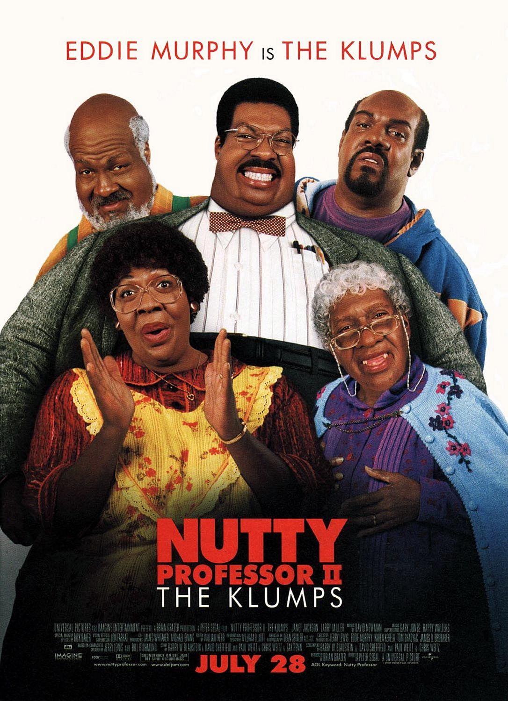 Nutty Professor II: The Klumps kapak